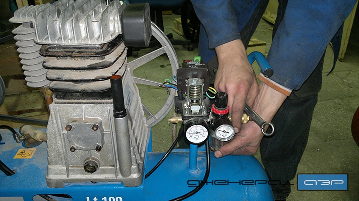 Ремонт поршневой компрессора своими руками